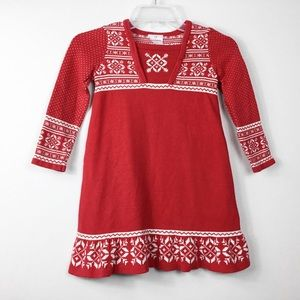 KIDS: Hanna Andersson Holiday Sweater Dress